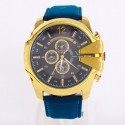 Men's Watch Casual Case Great Gold Quartz Stainless