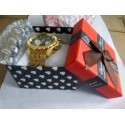 Relógio Orkina Masculino Ouro Dourado e Prata Elegante Automático