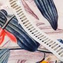 Macaquinho Curto Estampa Floral Feminino Manga Longa Bufante Deconte V