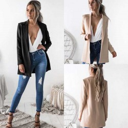 Women's Slim breathable open-button stylish Blazer