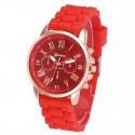 Watch Women's Casual Fashion Colorful Rubber Cheap