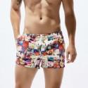 Shortinho de Praia Masculino Curto Estampado e Colorido Moda Verão