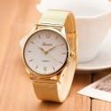 Clock Female Elegant Quartz Calcite Sale Wholesale Cheap