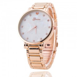 Watch Rose Geneva Female Elegant Fashion Formal Heart