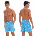 Men's Casual Short Animal print Beach fashion shorts