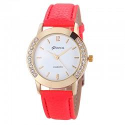 Relógio Casual Feminino Moda Fashion Bonito Barato Colorido em Quartzo