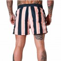 Summer Casual Young style modern beach male striped Short
