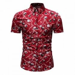 New style Florida Summer fashion beach men's shirt