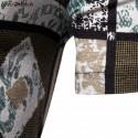 Men's Casual style Asbatrados square printed Afro shirt