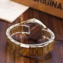 Relógio Geneva Feminino Formal Dourado Romanos Executivo Luxo