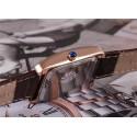 Relógio Feminino Kezzi Médico Elegante Casual Retângulo Dourado