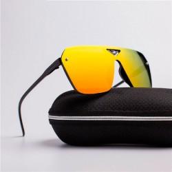 Óculos Espelhado Masculino Esporte Polarizado com Proteção UV