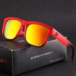 Evrfelan Men's Black and Lime Green Sunglasses
