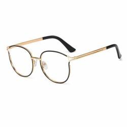 Armação de Óculos Feminino Rendondo Hastes Reta