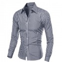 Checkered shirt Casual Men's Long Sleeve