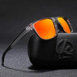 Óculos Masculino de Sol Moda Praia Lente Espelhada Proteção UV