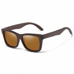 Óculos de Sol em Madeira Masculino Elegante Moda Verão Proteção UV