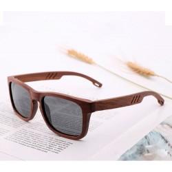 Óculos de Sol Masculino em Madeira Premium Lente Uv400 contra Radiação