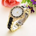 Watch Casual Female with Multicolor Crystals Elegant Party Night