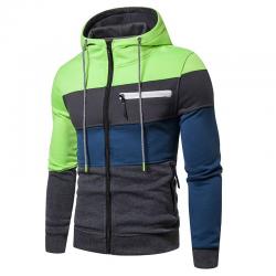 Men's Sweatshirt New Style Printed Modern Striped