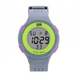 Relógio Esportivo Unisex Digital Resistente a Água em Borracha