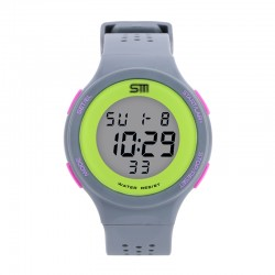 Watch Sports Unisex Digital Water Resistant Rubber