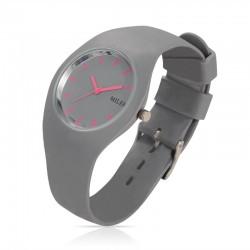 Relógio Esportivo Miler Feminino de Borracha em Quartzo Resistente