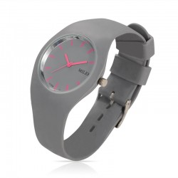 Watch Sports Miler Female Rubber Quartz Tough