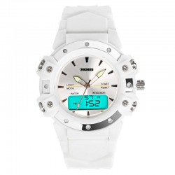 Sports Watch Women's Digital Analog Water Resistant