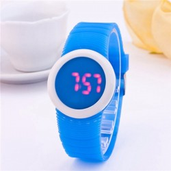 Watch Futuristic Female Sports Cycling LED Digital Color