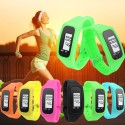 Clock Account Steps Race Sports Training Female LCD