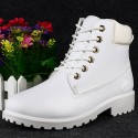Boot Casual Unisex Fashion Young Cano Long Rubber and Soft Leather