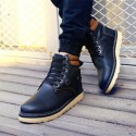 Boot Men's Casual Fashion Style Shoes Leather Comfortable