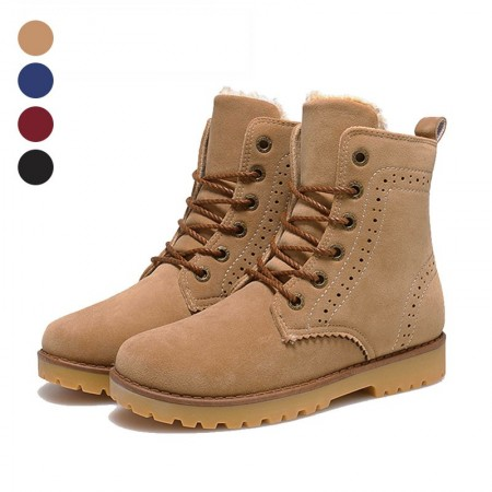 Boot Leather Unisex Casual Fashion Modern Cano Alto Shoes