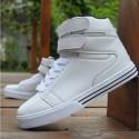 Sapatênis Boot Skate Cano Alto Modern Straight White Male Sola