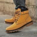 Boot Men's Sport Tough Leather Platform outsole