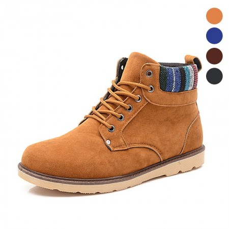 Resistant Boot Men's Work Safety Leather Fashion