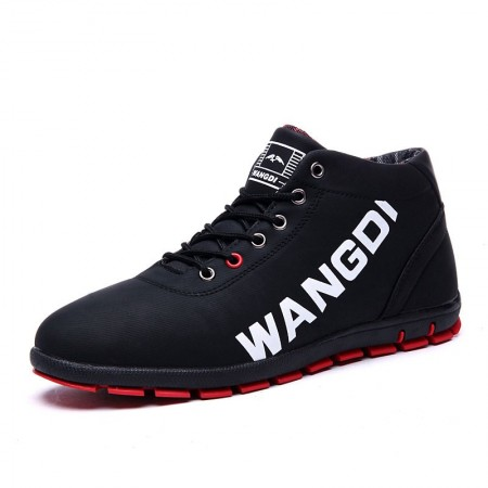 Tennis Casual Sports Male Sapatênis Boot Wangdi Cano Alto