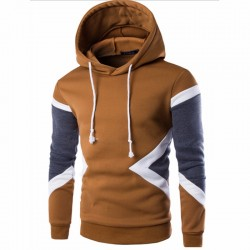 Hooded Geometrico Sport Cold Training Hooded Men's Fashion