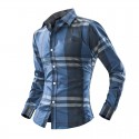 Shirt Casual Elegant Young Menswear Country Long Sleeve