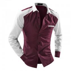 Social shirt Elegant Party Club Men's Casual Long Sleeve