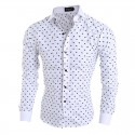 Floral shirt Slim Fit Stylish Men's Long Sleeve Social Maganata