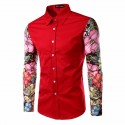 Casual Shirt Men's Floral Summer Holiday Modern Sea Beach