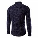 Camisa Social Estampa Floral Masculina Casual Elegante Plus Size
