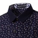 Social Estampa Floral Shirt Men's Casual Elegant Plus Size