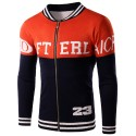 Jacket School Male Athlete Sports Winter American