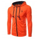 T Fitness Sports Training Winter Male Hooded