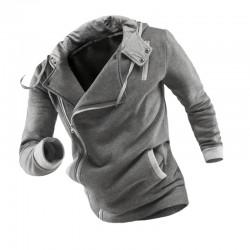 Moletom Fashion Masculino Aventura de Inverno Elegante Sofisticado