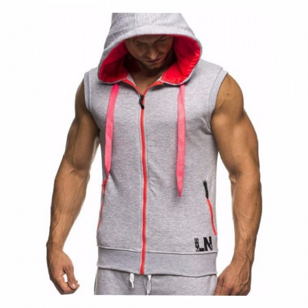 Hooded Men's Race Training Sports Race Hooded