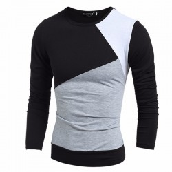 Men's Wool Winter Shirt Long Sleeve Sweatshirt Casual